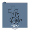 He Is Risen Hand Lettered