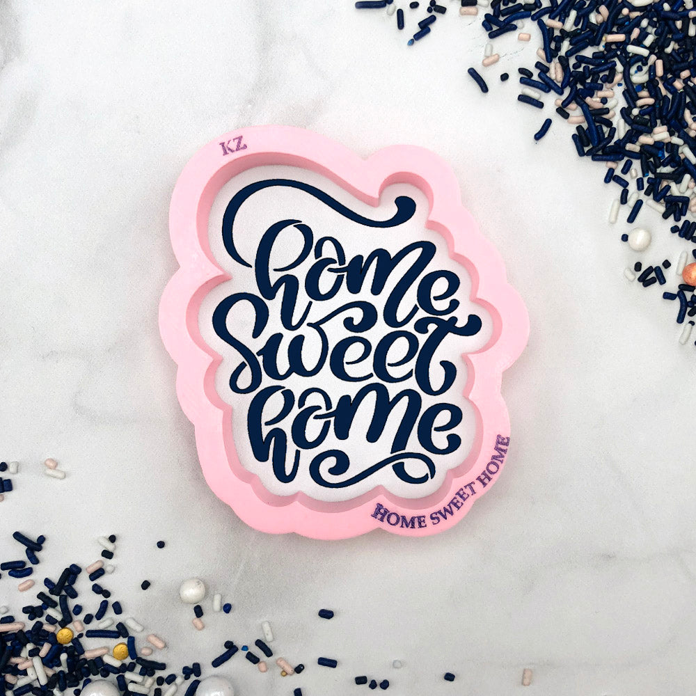 Home Sweet Home Hand Lettered