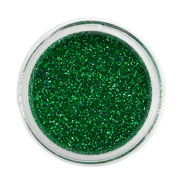 Kelly Green Techno Glitter