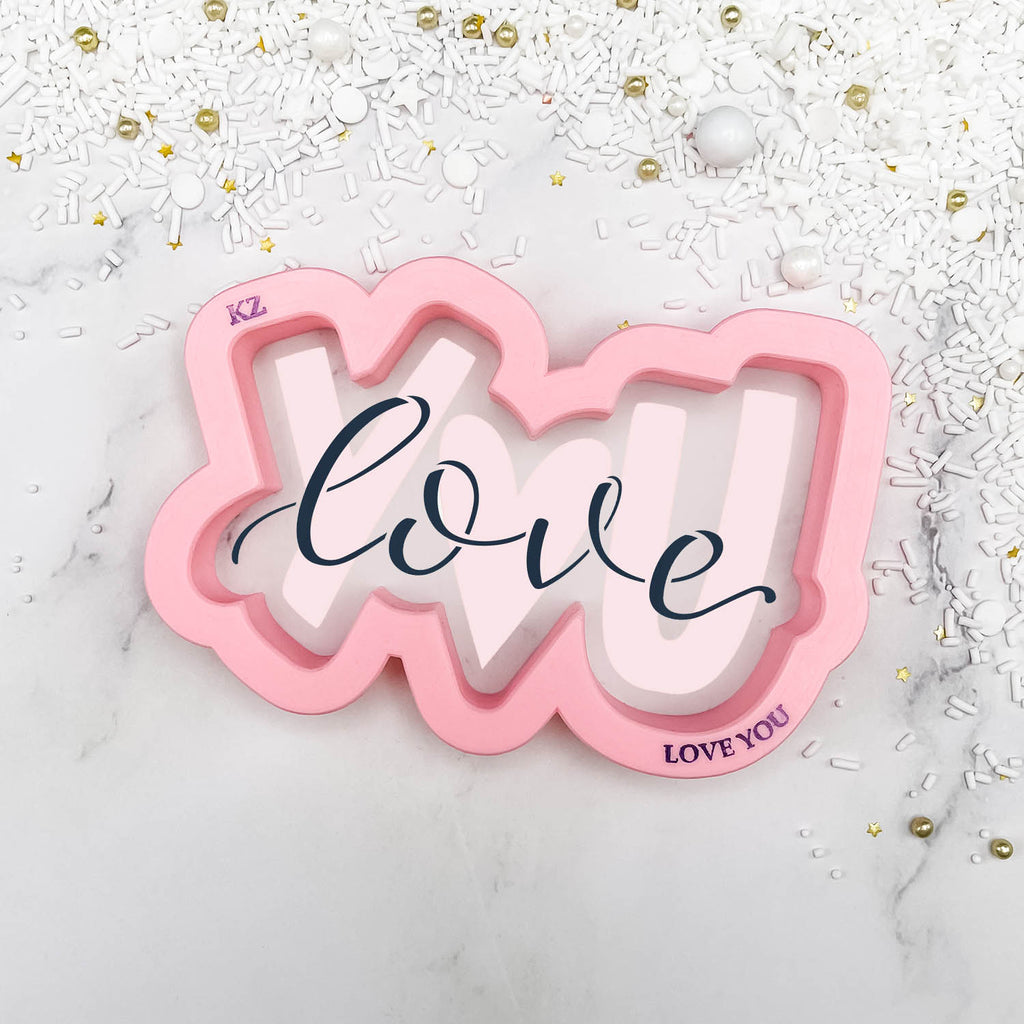 Love You (Style 2) Hand Lettered