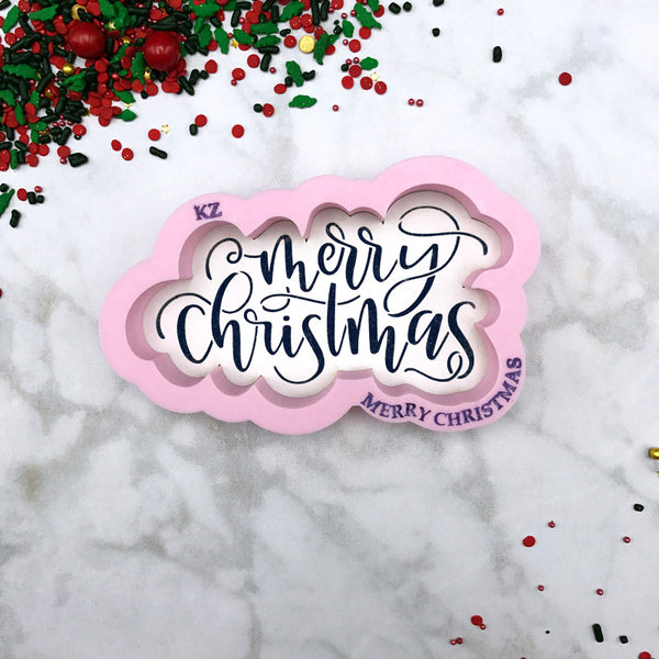 Merry Christmas Hand Lettered