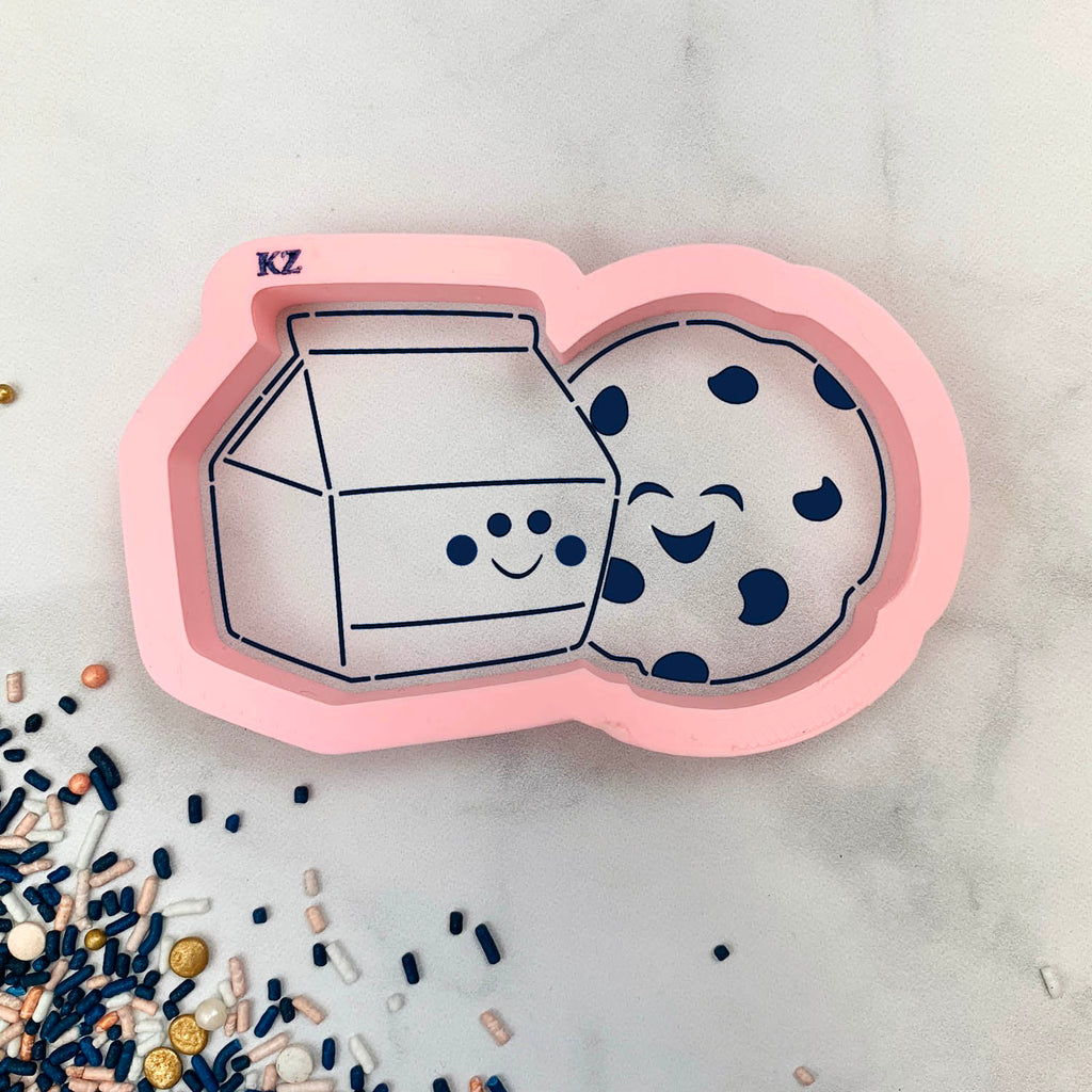 Cookies & Milk Cutter/Stencil