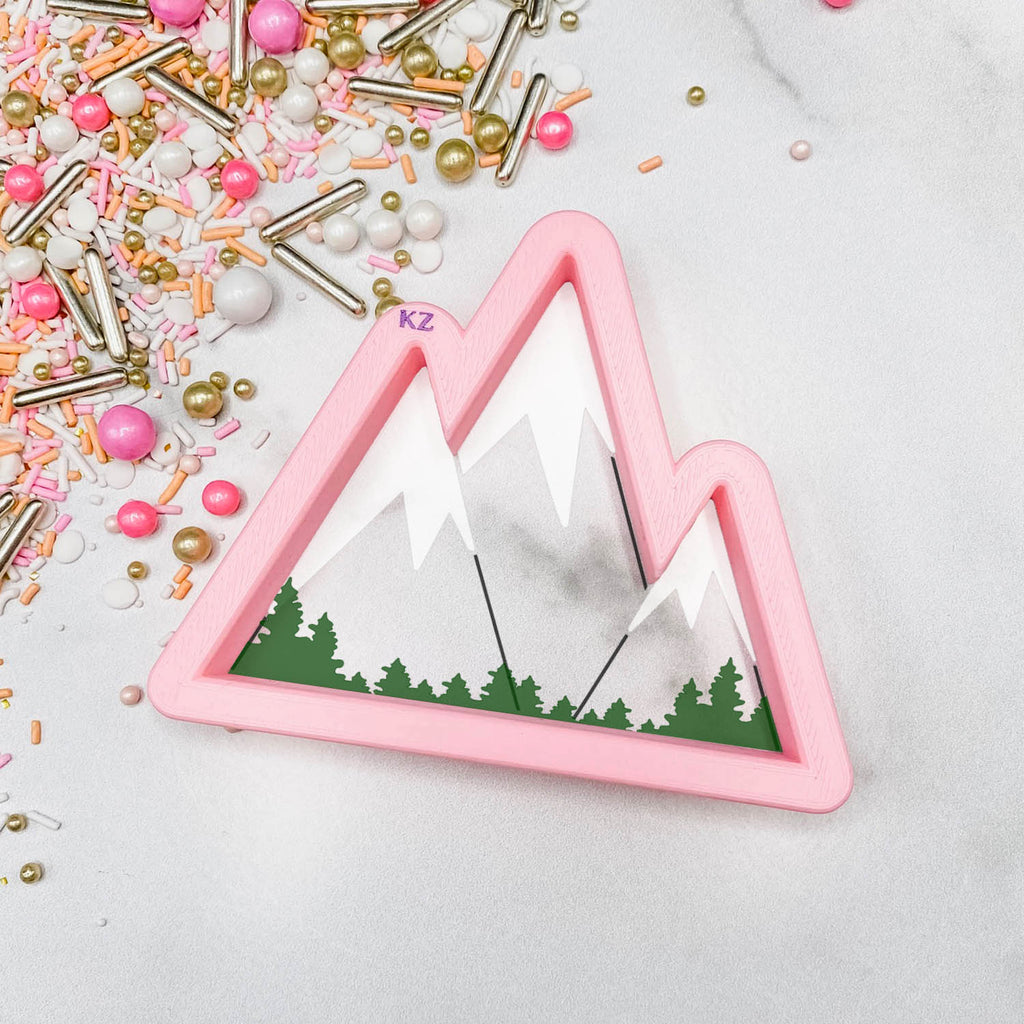 Mountains Cutter/Stencil