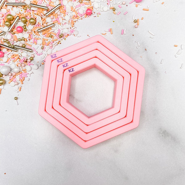 Nesting Hexagons Cutter Set