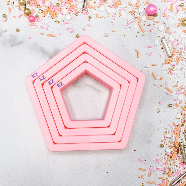 Nesting Pentagons Cutter Set