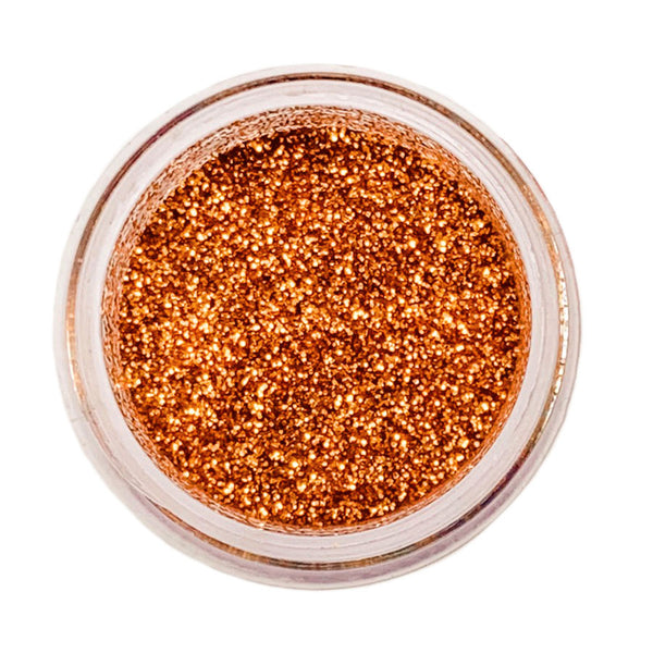 New Copper Disco Glitter