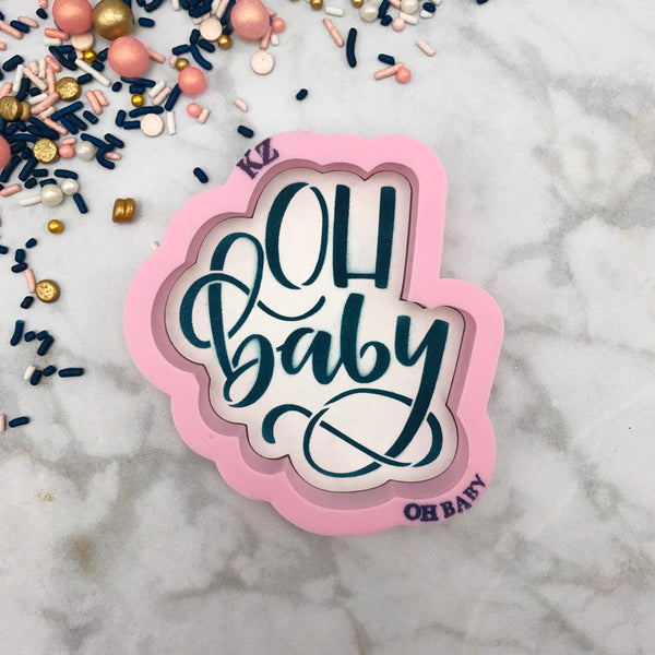 Oh Baby Hand Lettered