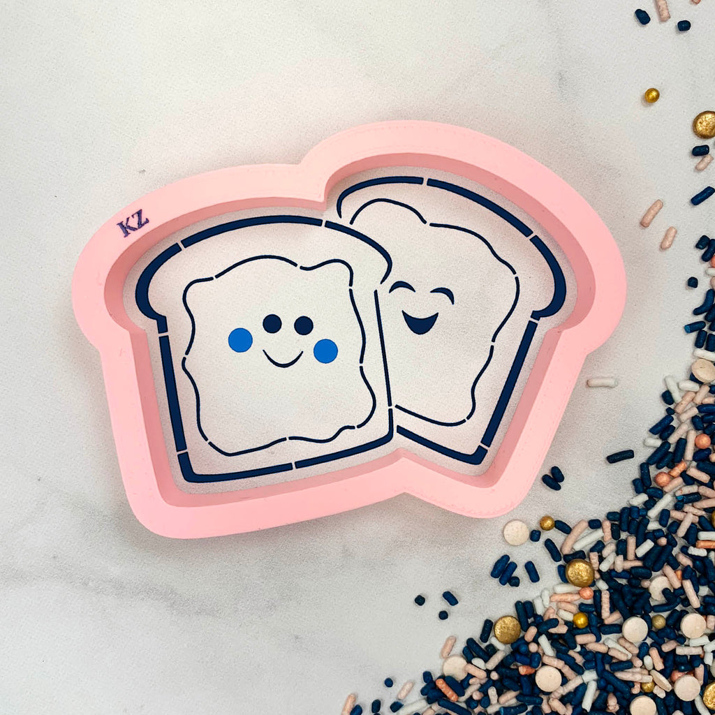 Peanut Butter & Jelly Cutter/Stencil