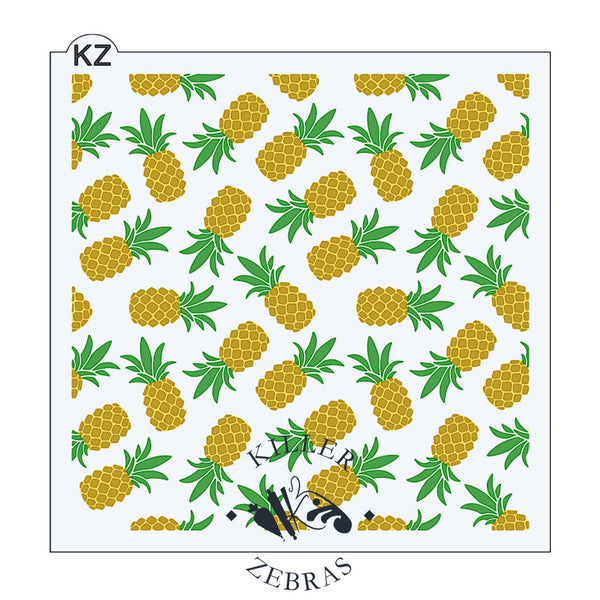 Pineapples 3 Part
