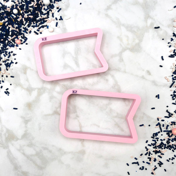 Ribbon Tag Cookie Cutter