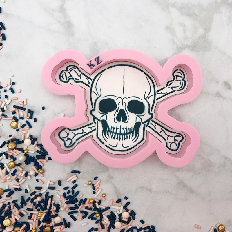 Skull and Cross Bones Cutter/Stencil