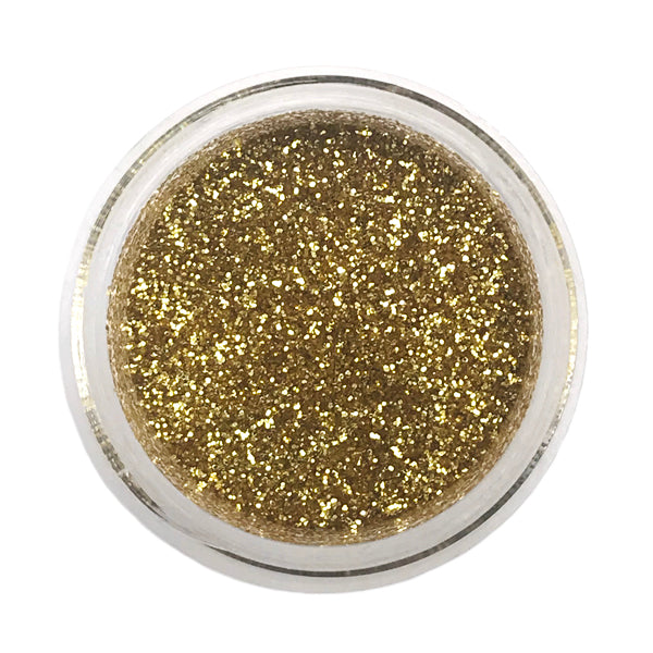 Soft Gold Disco Glitter