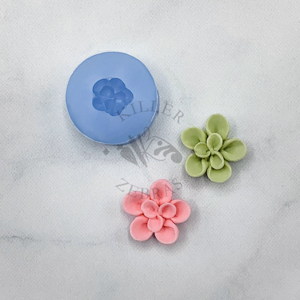 Succulent Flower Mold