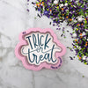 Trick or Treat Hand Lettered