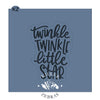 Twinkle Twinkle Little Star Cutter/Stencil