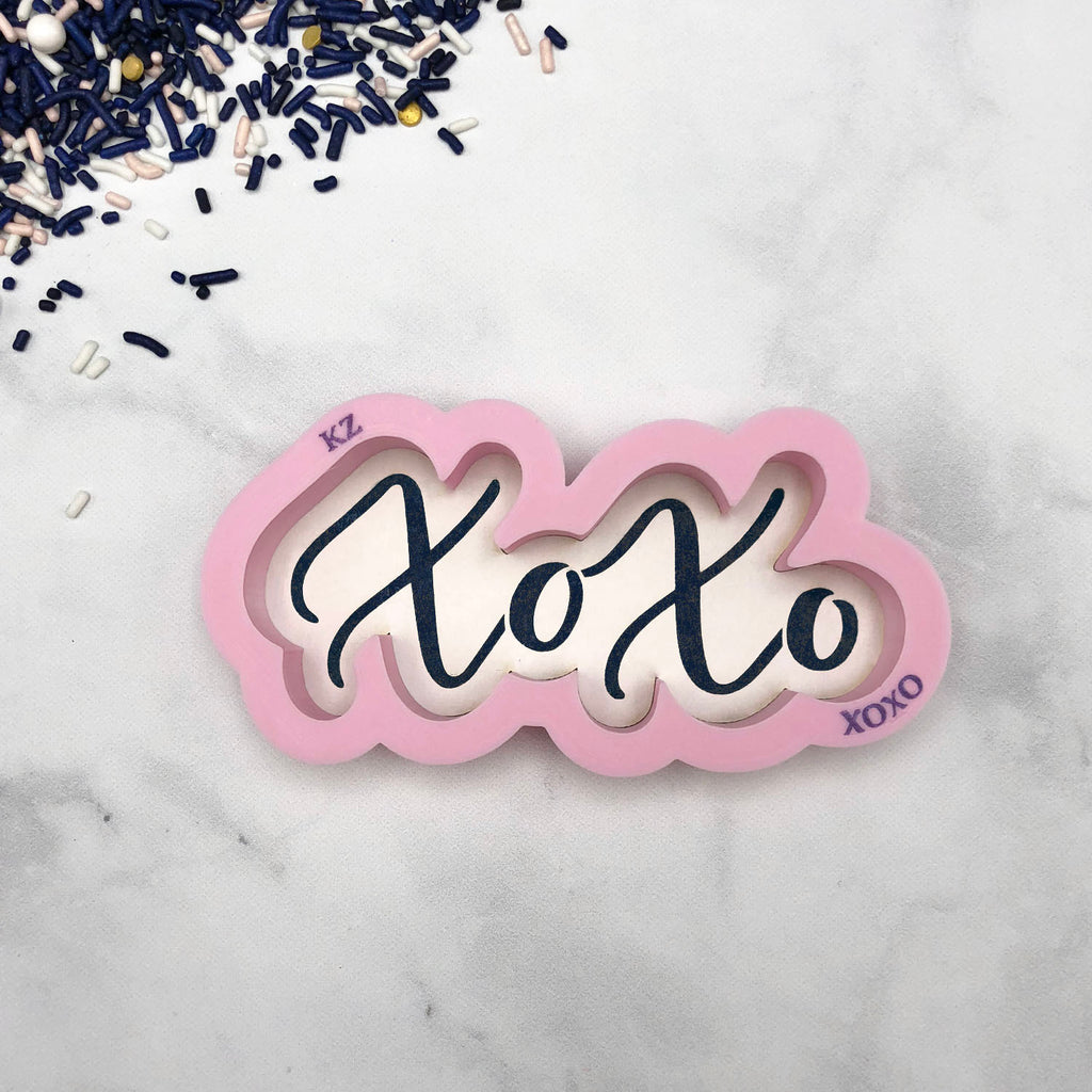 XOXO Hand Lettered