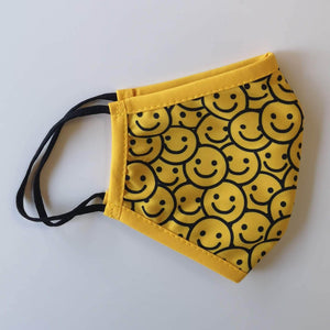 Kids - Smiley Faces - Non-Medical Face Mask