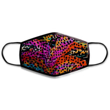 Load image into Gallery viewer, Funky Leopard - Non-Medical Face Mask