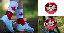 Load image into Gallery viewer, Maple Leaf Cyclist Gift Bundle.