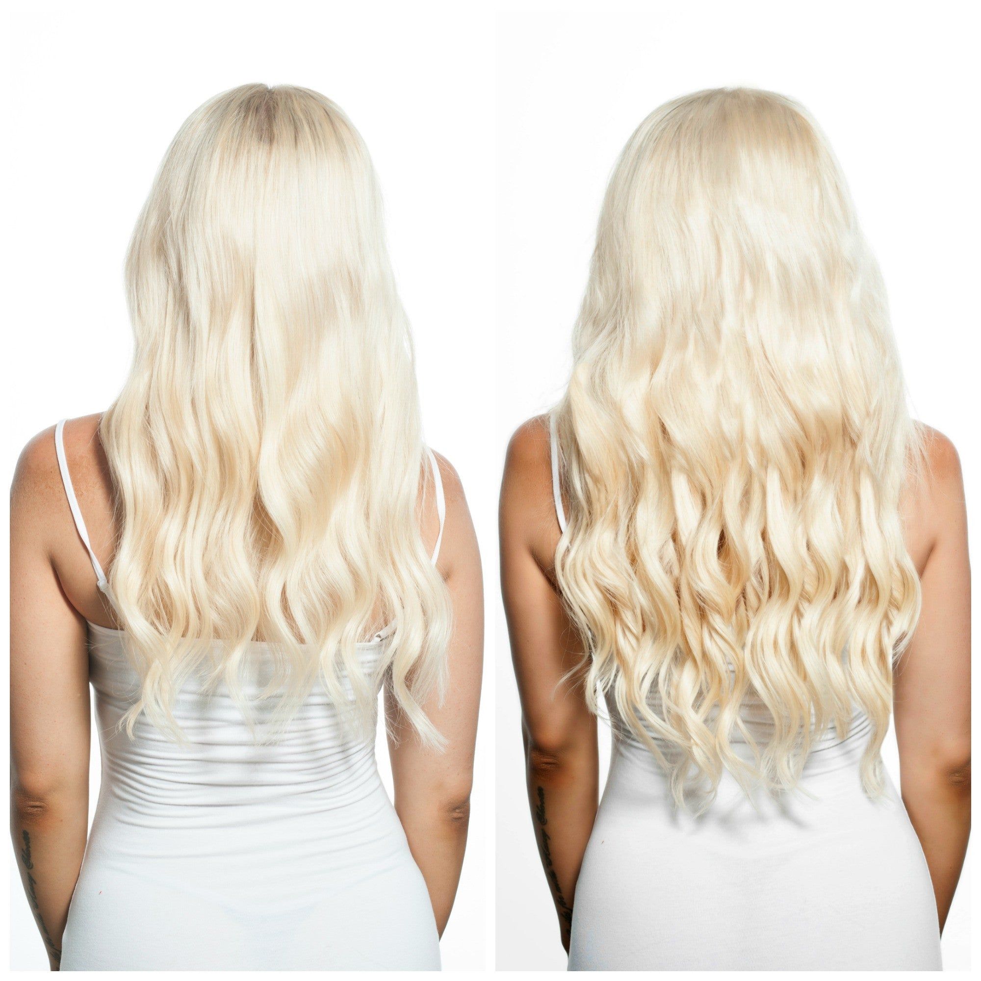 Bleach Blonde Clip In Hair Extensions Online Australia