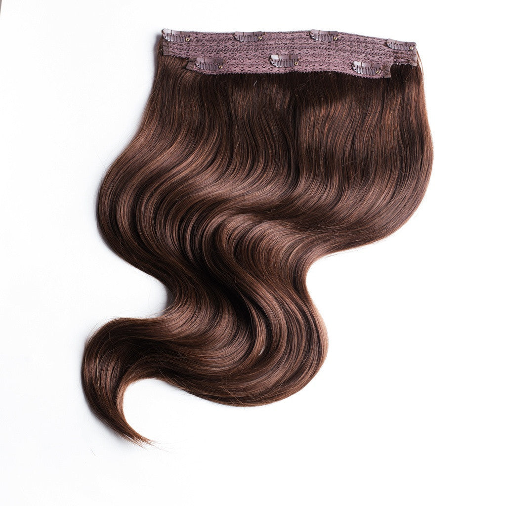 Chocolate Brown Clip In Hair Extensions Online Australia