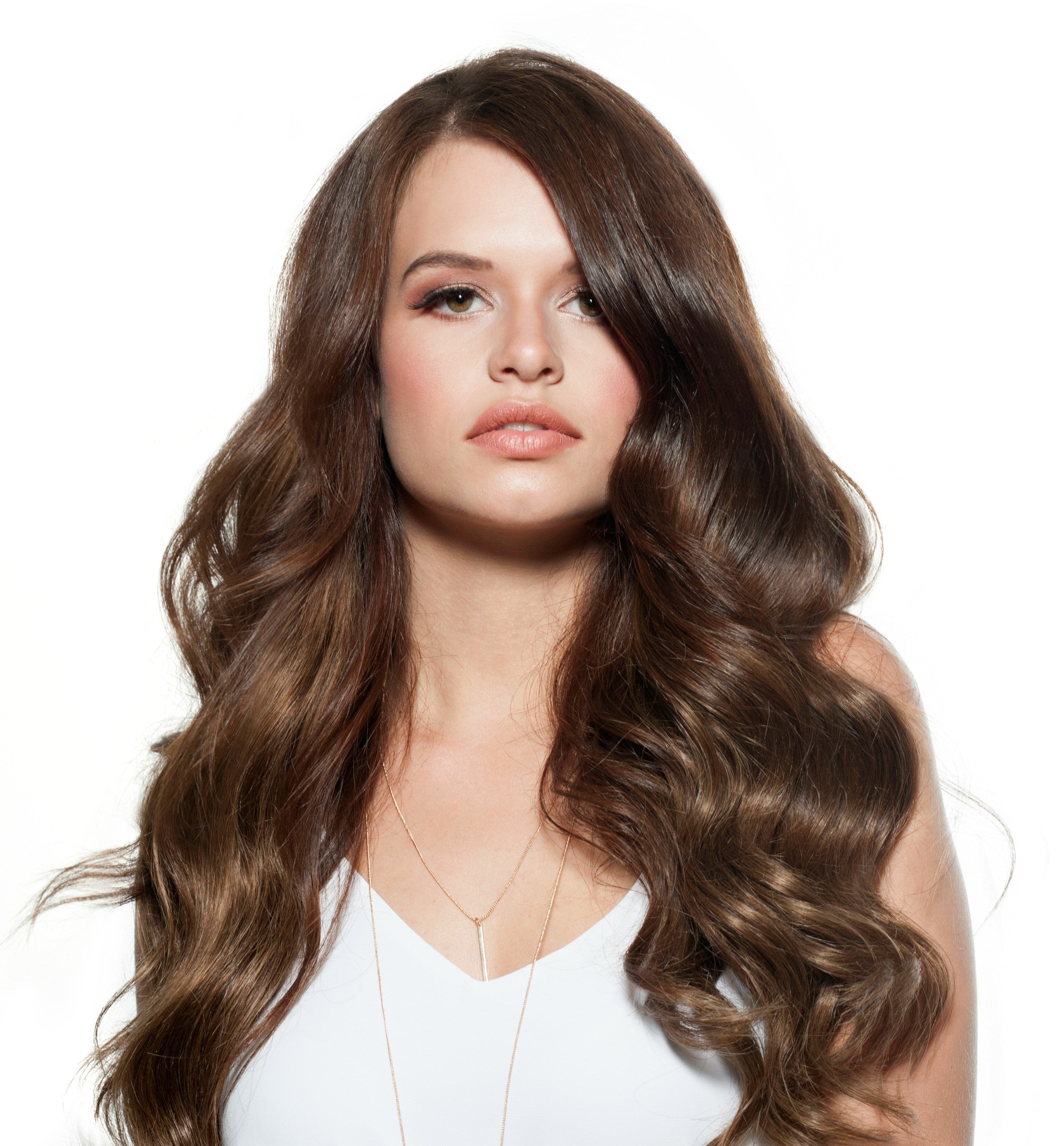 Chestnut Brown Clip In Hair Extensions Online Australia