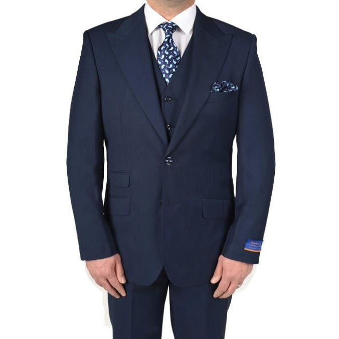 BERRAGAMO MODERN FIT PEAK (NEW BLUE)