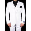 BERRAGAMO WHITE MODERN FIT SUIT - BUY ONE SUIT, GET ONE FREE