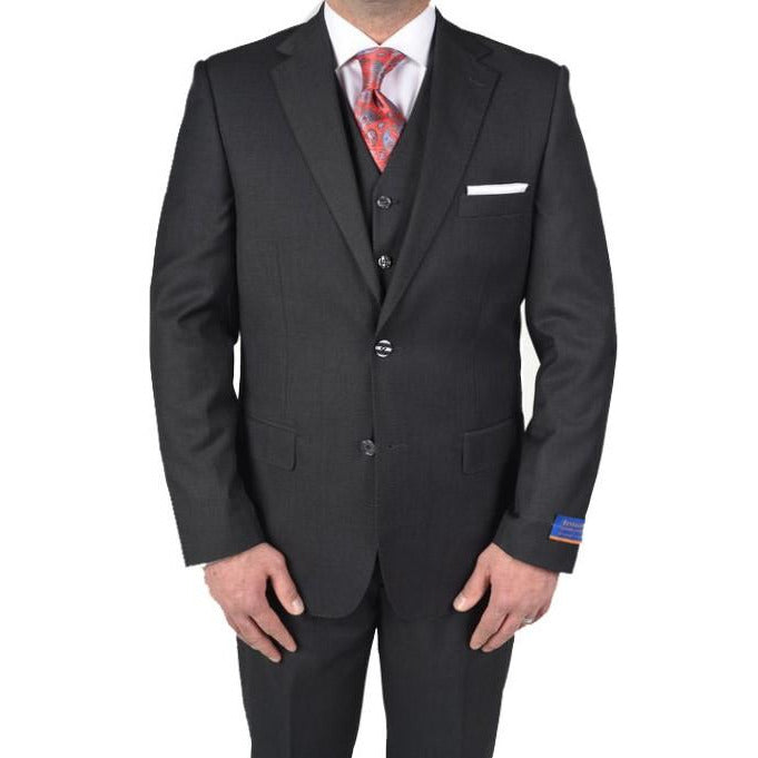 BERRAGAMO CHARCOAL MODERN FIT SUIT