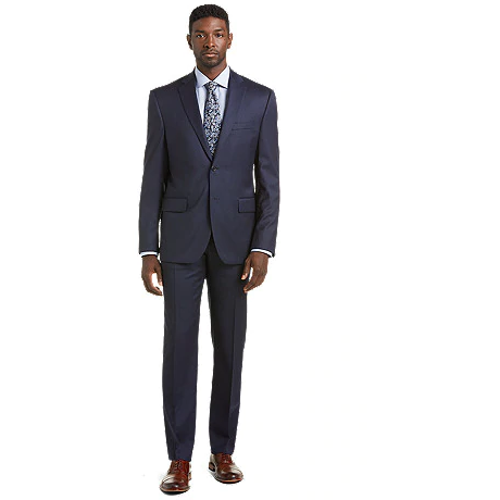 GIORGIO COSANI MODERN FIT SUIT POSTMAN BLUE