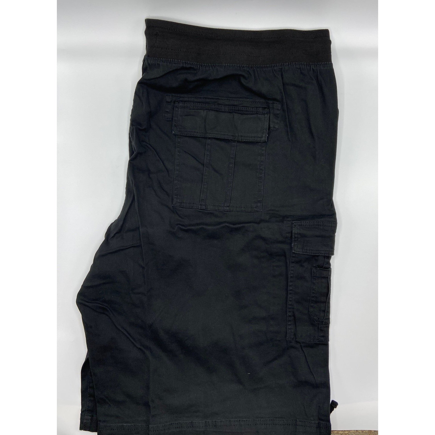 ROCAWEAR BIG & TALL STRETCH TWILL SHORT BLACK
