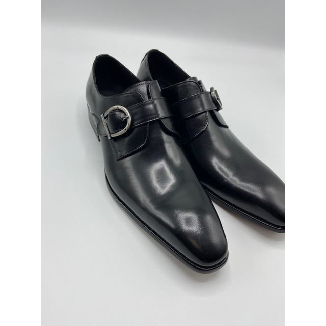 CARRUCCI MONK STRAP SHOE BLACK-BLACK FRIDAY SPECIAL