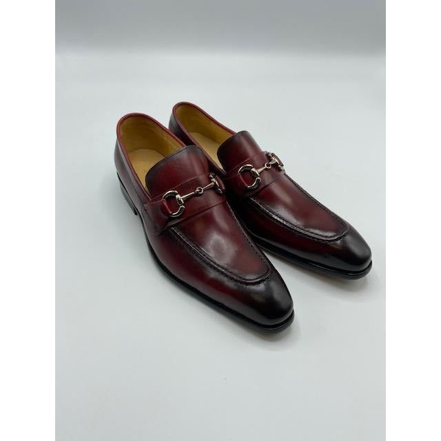 CARRUCCI SLIP ON SHOE RED-BLACK FRIDAY SPECIAL