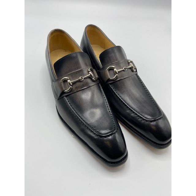 CARRUCCI SLIP ON SHOE GREY-BLACK FRIDAY SPECIAL