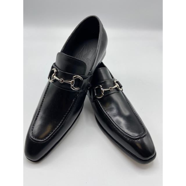 CARRUCCI SLIP ON SHOE BLACK-BLACK FRIDAY SPECIAL