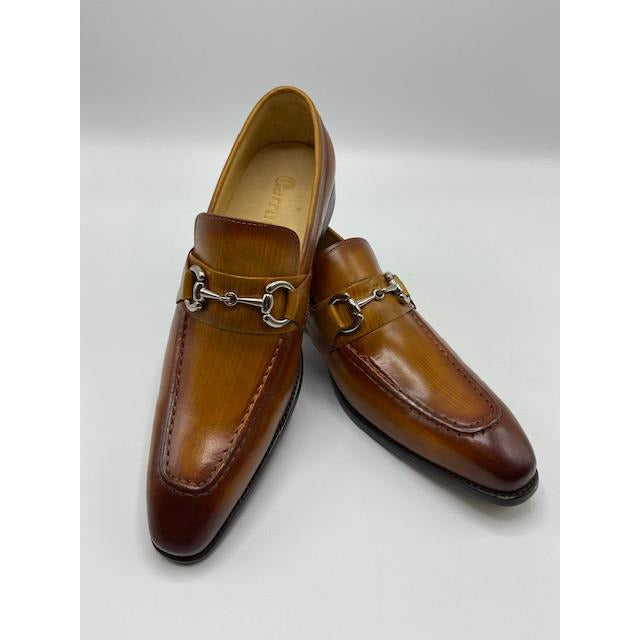 CARRUCCI SLIP ON SHOE COGNAC-BLACK FRIDAY SPECIAL