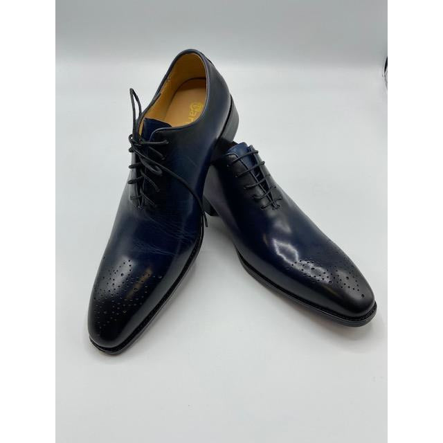 CARRUCCI LACE UP SHOE NAVY-BLACK FRIDAY SPECIAL