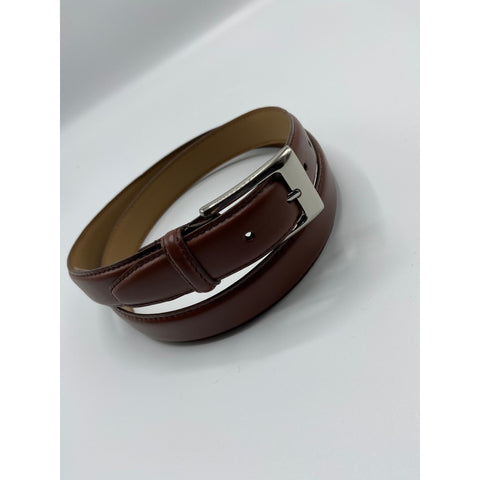 BELT - SMOOTH GRAIN LEATHER TAN