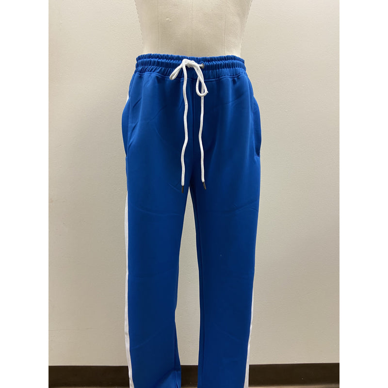 BLEECKER & MERCER TRACK PANT ROYAL