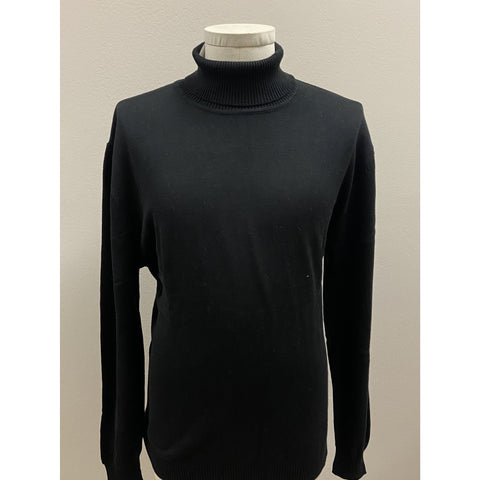 VARESSA TERRANO TURTLENECK SHIRT BLACK