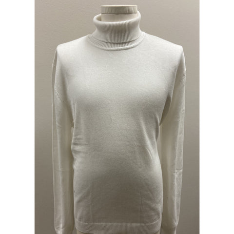 VARESSA TERRANO TURTLENECK SHIRT WHITE