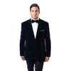 Velvet Regular Modern Fit Mens Blazer Jacket For Men
