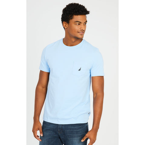 NAUTICA BIG & TALL TEES - NOON BLUE