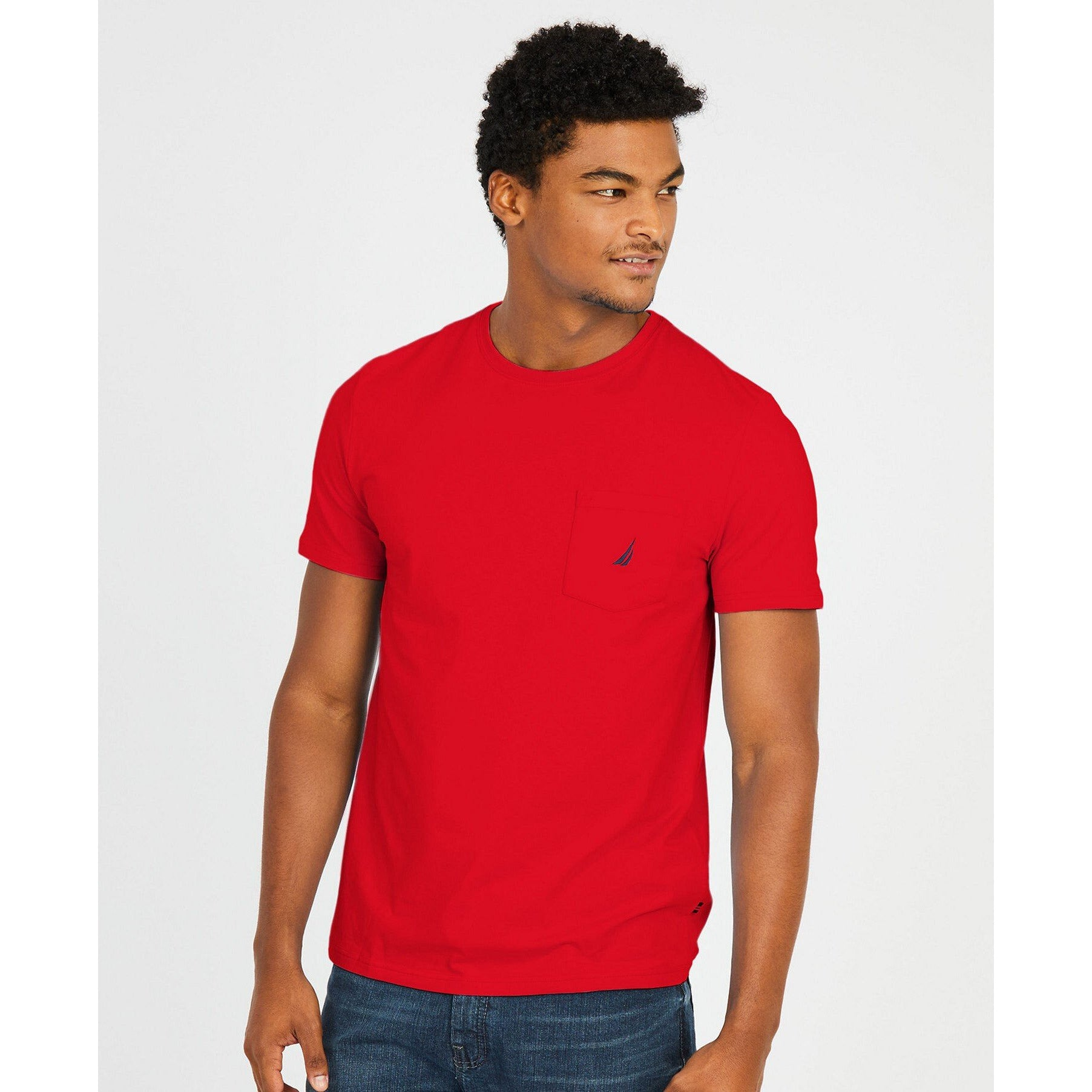 NAUTICA BIG & TALL TEES - RED