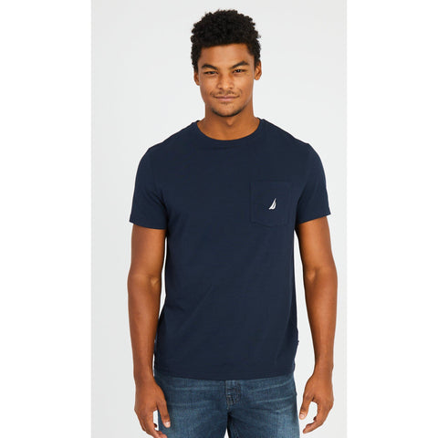 NAUTICA BIG & TALL TEES -NAVY