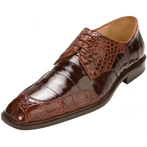 BELVEDERE OE7 CANE SHOE BRANDY/BROWN