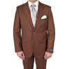 BERRAGAMO TOBACCO MODERN FIT SUIT - BUY ONE SUIT, GET ONE FREE