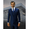 WEST END 3PC SUIT MIDNIGHT BLUE