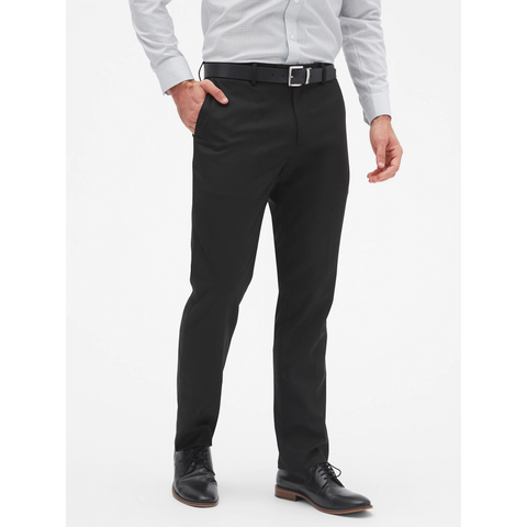 WEST END SLIM FIT PANT BLACK