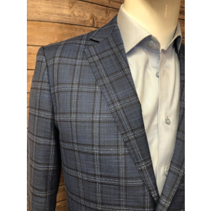 Nevima Jacket - Multi-Color Windowpane